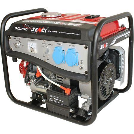 te poti baza oricand pe un generator de curent de la firma SENCI