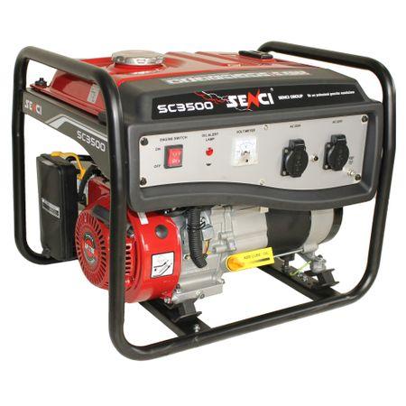 generator pe benzina Senci cu un raport calitate-pret bun