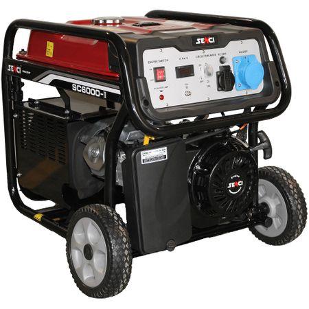 Generator curent la Emag